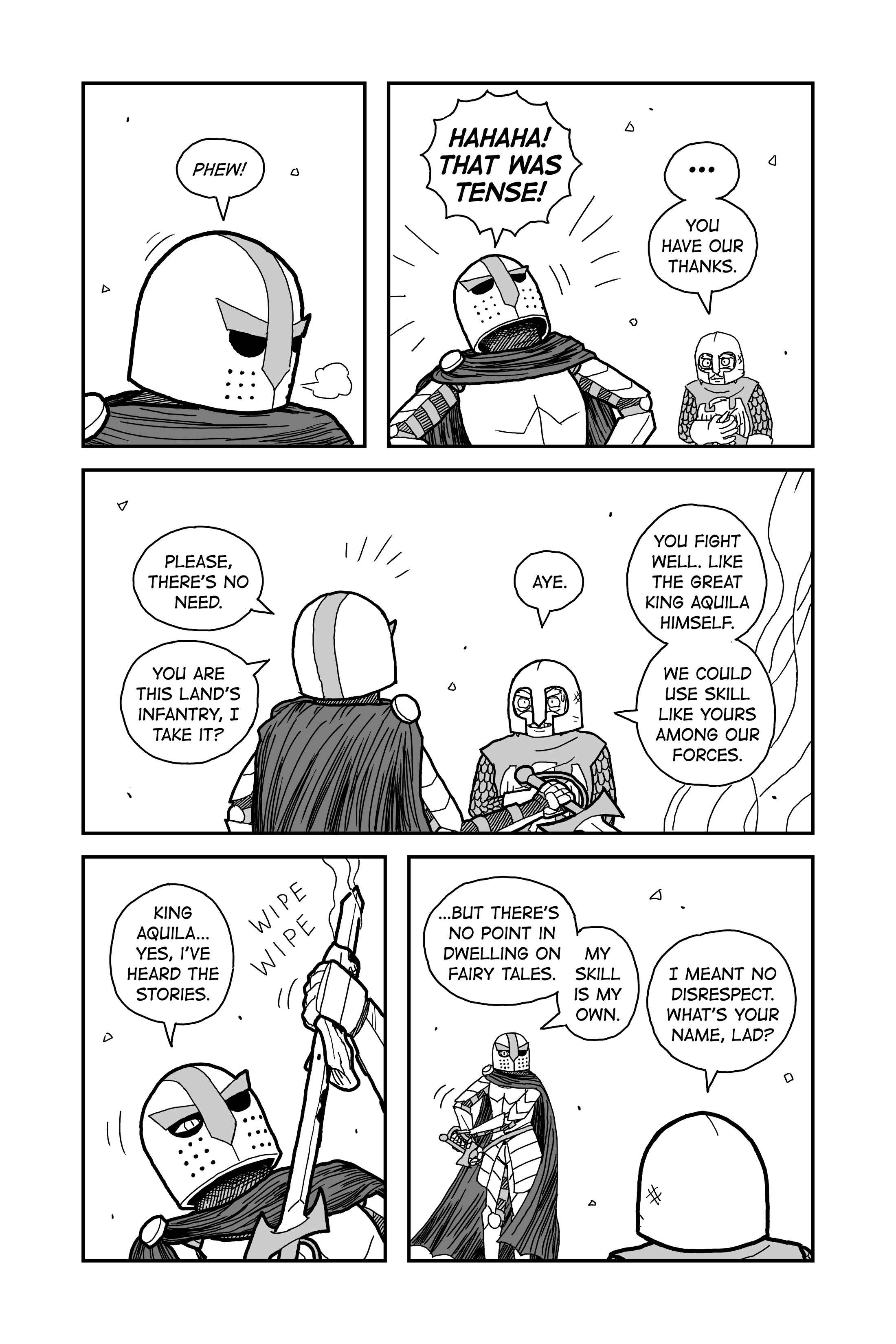 Chapter 3 – Lost Light & The Bloody Path || Page 22