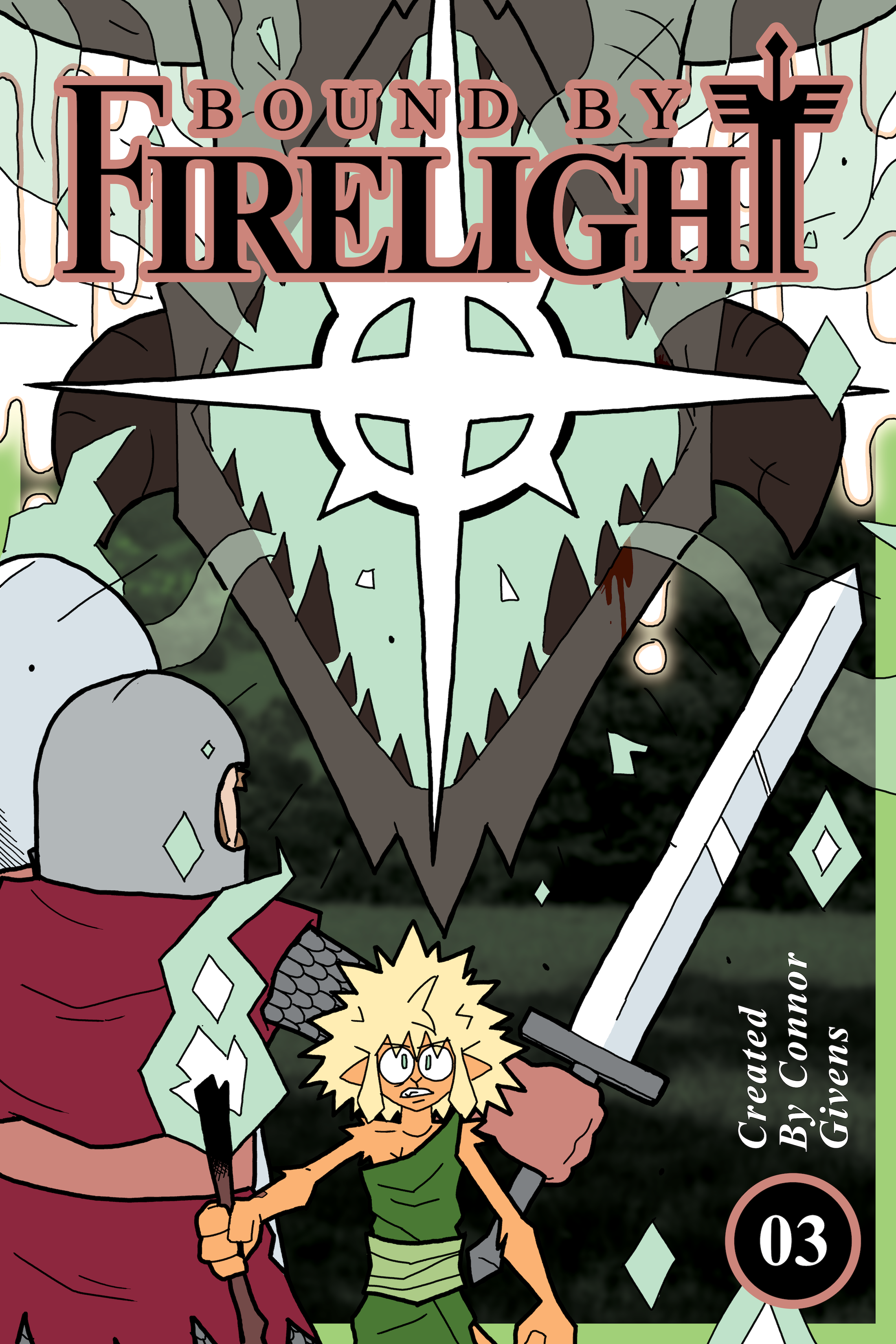 Chapter 3 – Lost Light & The Bloody Path || Cover